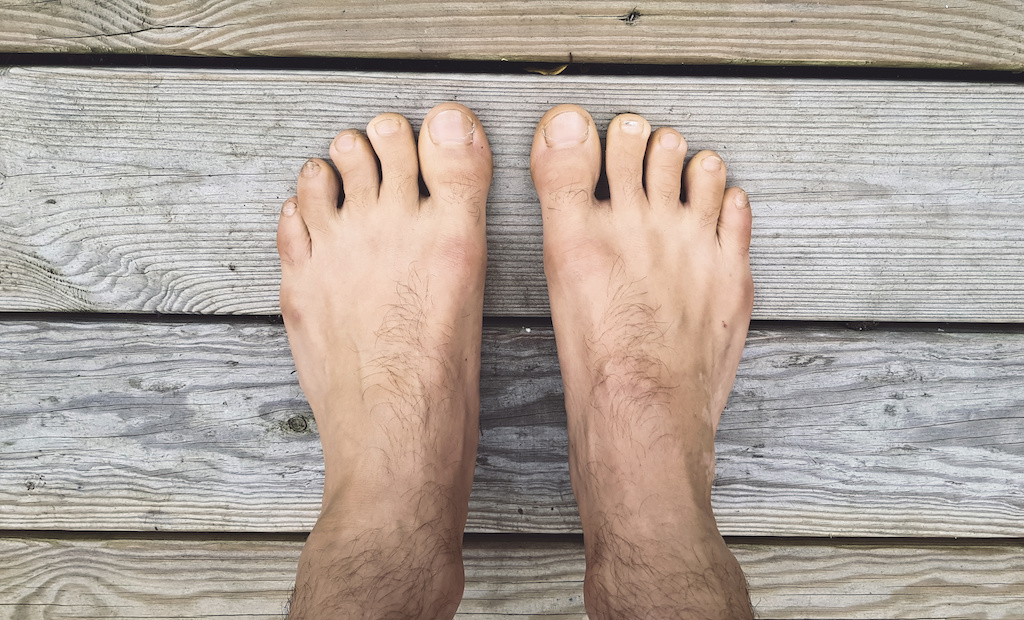 A Pair of Naked Feet